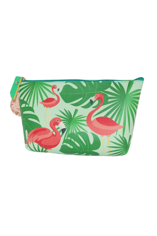 50s Flamingo Rockabilly retro Kosmetikbeutel Kosmetiktasche