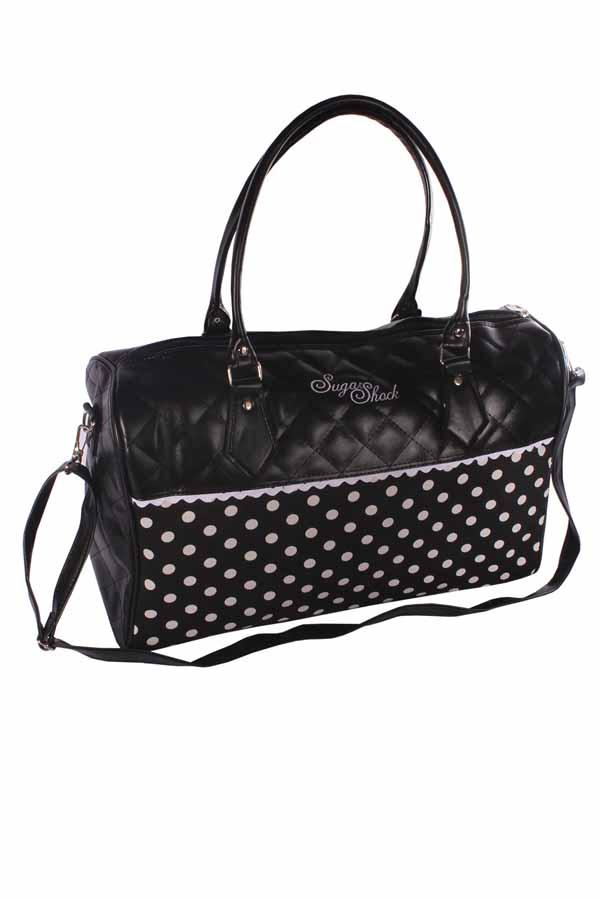 POLKA DOTS Weekender rockabilly Shopper Handtasche Umhängetasche
