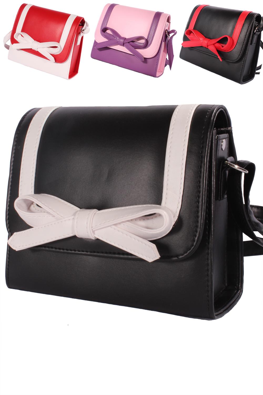 50er Jahre 2tone pin up Schleifen rockabilly BOW Handtasche Köfferchen
