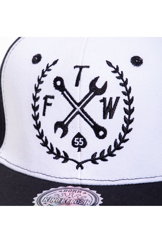 King Kerosin Baseballcap FTW Fuck the World Baseball Trucker