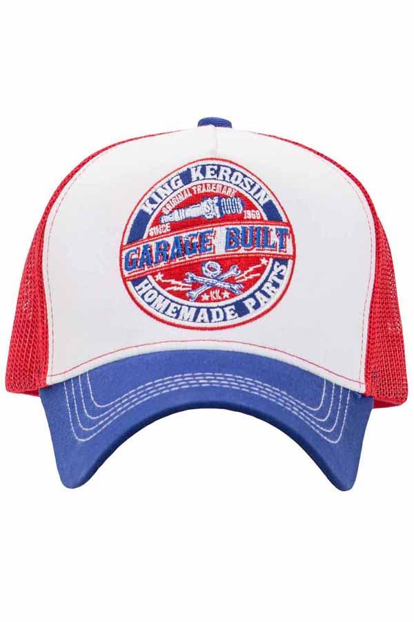 King Kerosin Baseballcap Garage Built Baseball Trucker Snapback Cap