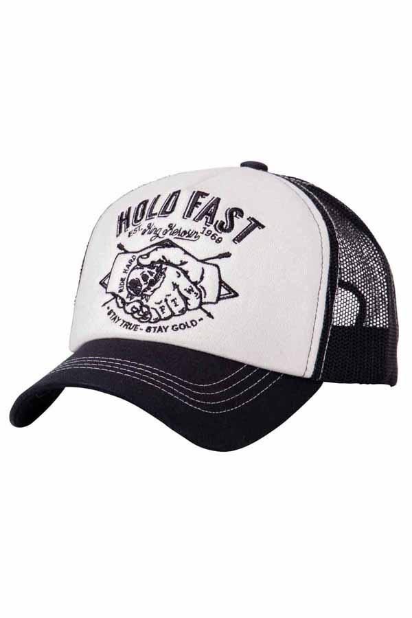King Kerosin Baseballcap Hold Fast Baseball Trucker Snapback Cap