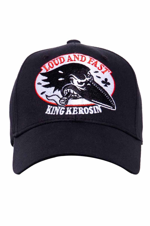 King Kerosin Baseballcap Loud & Fast Baseball Trucker Mütze Cap