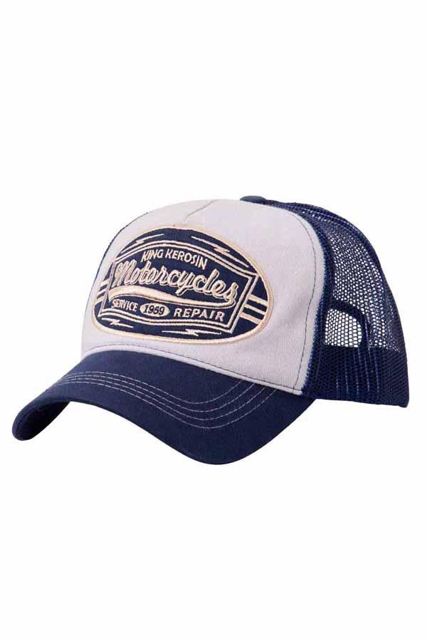 King Kerosin Baseballcap Motorcycles Baseball Trucker Snapback Cap