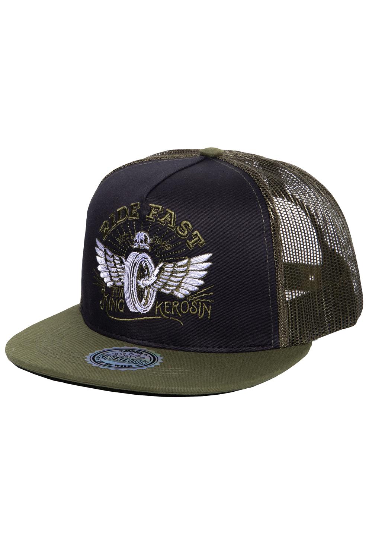 King Kerosin Baseballcap Ride Fast Baseball Trucker Snapback Cap