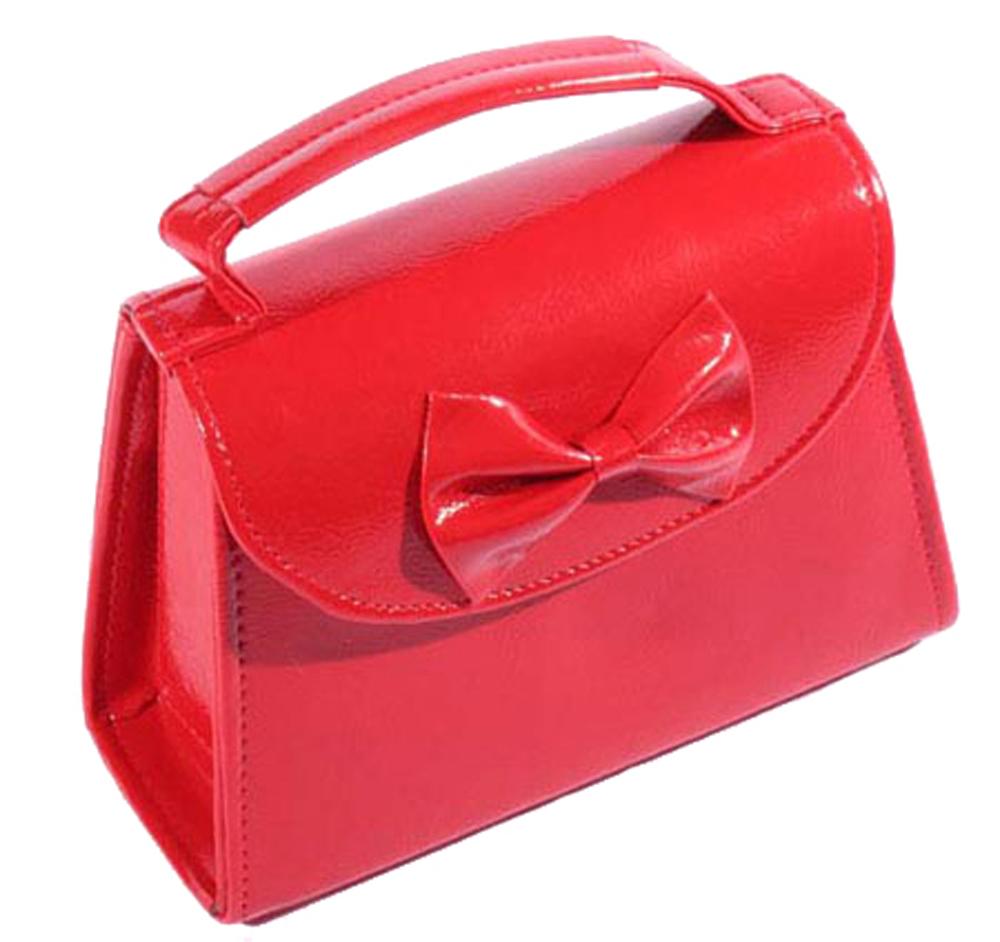 50er Jahre pin up Schleifen rockabilly oldschool BOW Tasche Handtasche