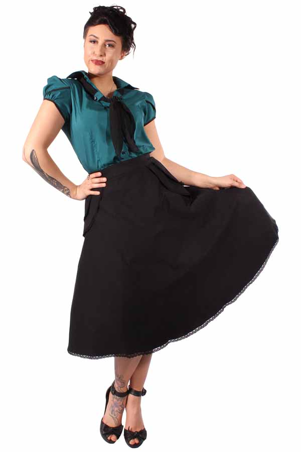 RETRO rockabilly Vintage SWING ROCK Schößchen Petticoat-Rock