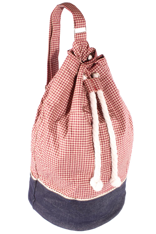 Retro Gingham rockabilly Karo SEESACK Reisetasche Shopper Tasche