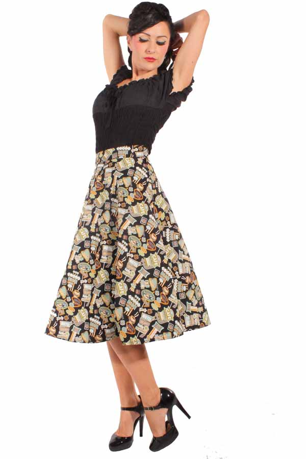 rockabilly retro pin up 50er Jahre Style Diner Motel Swing Rock
