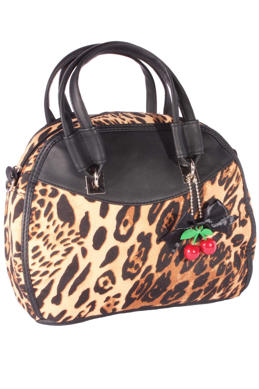 Rockabilly Leo 50er Jahre Leoparden retro Handtasche Tasche