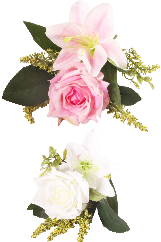 Rosen Lilien Haarblüten Blumen rockabilly Haarspange Hairclip