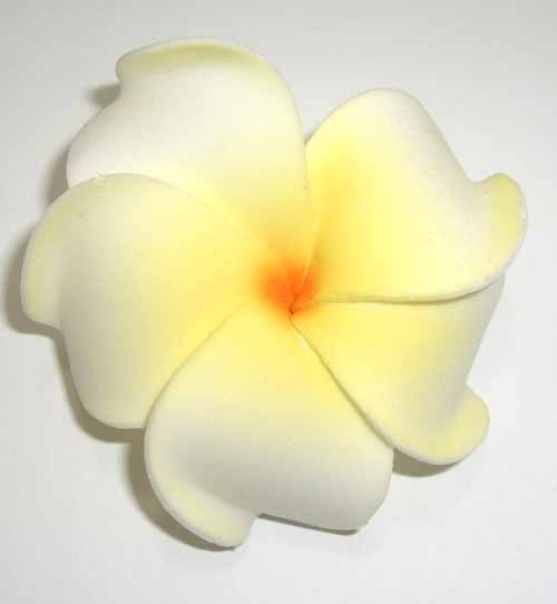 Hawaii Tiki Cambodia Flower Blüte Haarblüte Blume rockabilly Haarspange