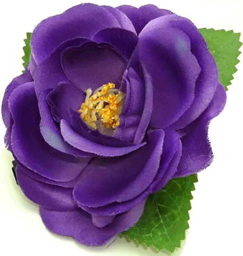 50er Rose pin up rockabilly Blüten Haarspange Hairclip