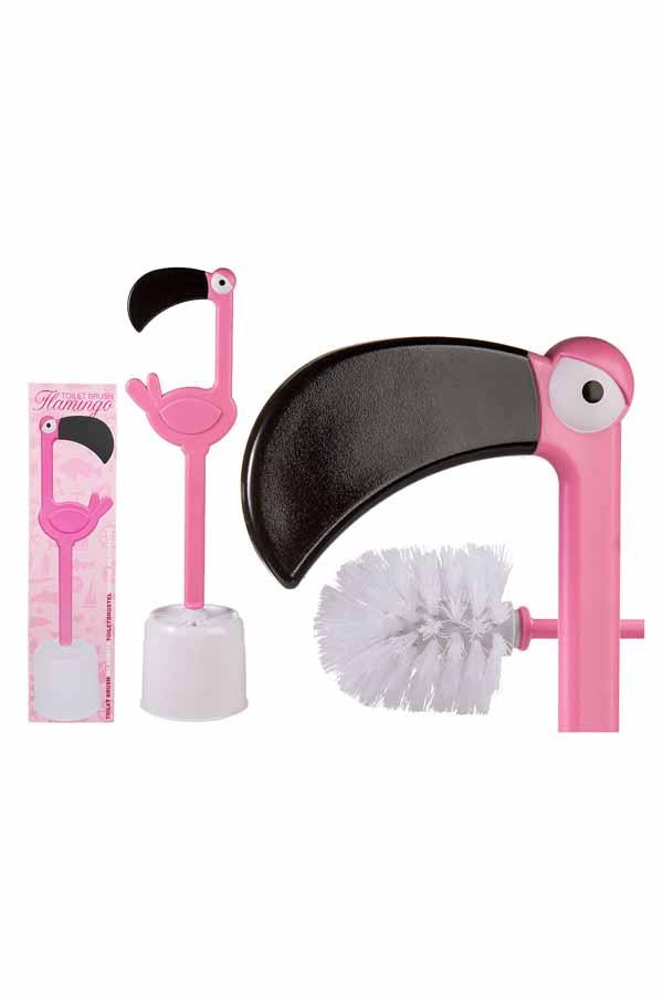 Tolle Flamingo WC-Bürste Toilettenbürste Geschenkidee Deko Klobürste