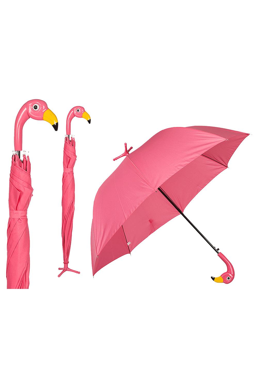 Flamingo Regenschirm Stockschirm Geschenk Standschirm pink mit Fuß