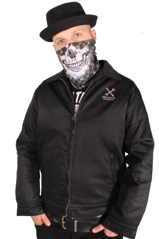 Camouflage Totenkopf Biker Schal Multifunktions-Tunnel Skull Loopschal