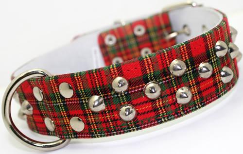 Schottenkaro Plaid punk Tartan Karo Hundehalsband