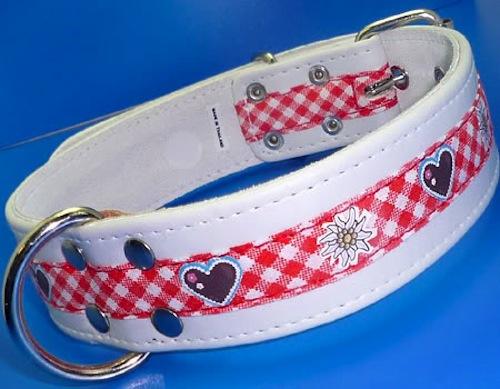 Gingham Karo Trachten Dirndl Halsband Oktoberfest Hundehalsband