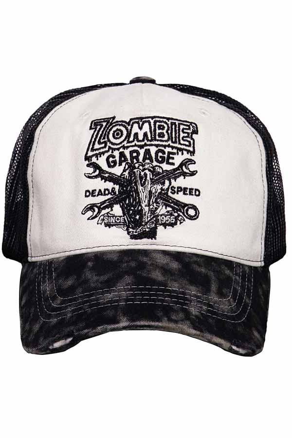 King Kerosin Baseballcap Zombie Garage Baseball Trucker Snapback Cap