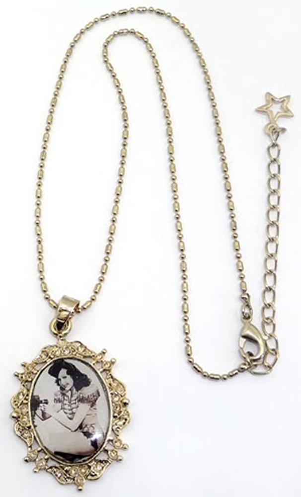 50s retro PIN UP Army Medaillon rockabilly Halskette